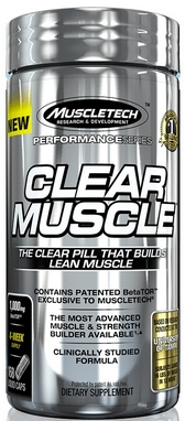 Спецпрепарат Muscletech Clear Muscle (168 капсул)