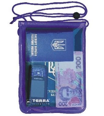 Гермопакет для документов Terra Incognita SafeCase (16,5х19,5 см)