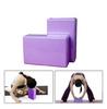 Йога-блок Pro Supra 15,5x7,5 см синий - фото 2