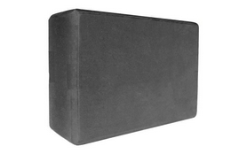 Йога-блок Pro Supra 15,5x7,5 см черный