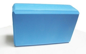 Фото 1 к товару Йога-блок Pro Supra 15,5x7,5 см синий