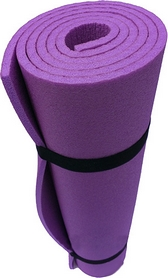 Коврик туристический (каремат) Mountain Outdoor Кемпинг фиолетовый 8 мм