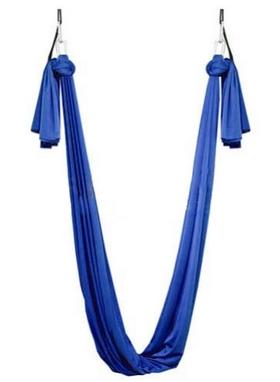 Гамак для йоги ZLT Yoga swing FI-4440 синий