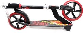 Фото 2 к товару Самокат двухколесный Explore Robo 200 Sport черный красным