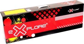 Фото 3 к товару Самокат двухколесный Explore Robo 200 Sport черный красным