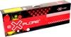 Самокат двухколесный Explore Robo 200 Sport черный красным - фото 3