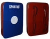 Макивара прямая Sportko M3 (60x40x15 см) сине-красная - фото 1
