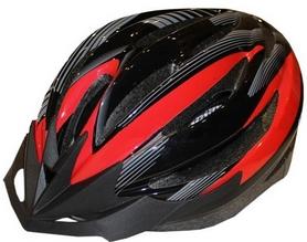 Велошлем кросс-кантри ZLT HB13 черный с красным
