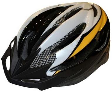 Велошлем кросс-кантри ZLT HB13 черный с желтым