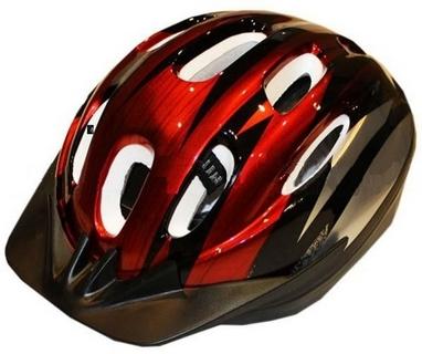 Велошлем шоссейный ZLT MV10 красный