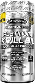 Фото 1 к товару Спецпрепарат (Омега 3) Muscletech Essential Pure Krill Oil (30 капсул)