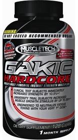 Спецпрепарат (предтренировочный комплекс) Muscletech Gakic Hardcore (128 капсул)