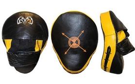 Лапы изогнутые Rival MA-3302 (30x22x11 см) черный/желтый