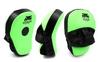 Лапы изогнутые Venum MA-031 (25x19x7 см) зеленый/черный - фото 1