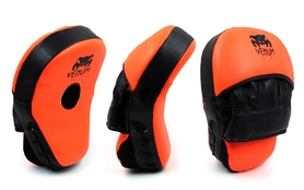 Лапы изогнутые Venum MA-025 (25x19x7 см) оранжевый/черный