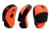 Лапы изогнутые Venum MA-025 (25x19x7 см) оранжевый/черный - фото 1