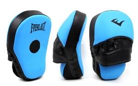 Лапы изогнутые Everlast MA-011 (25x19x7 см) голубой/черный