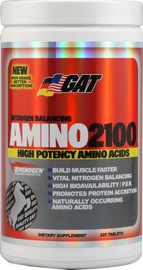 Аминокислоты GAT Amino Tablets 2100 (325 таблеток)