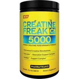 Фото 1 к товару Креатин PharmaFreak Creatine Freak 5000 (500 г)