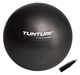 Фото 1 к товару Мяч для фитнеса (фитбол) Tunturi Gymball 65 см черный