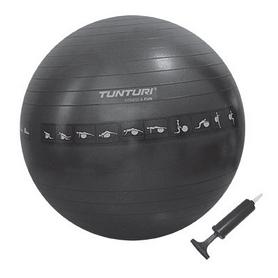 Мяч для фитнеса (фитбол) Tunturi Gymball 75 см черный