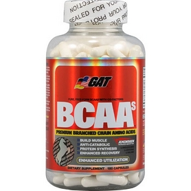 Аминокислоты GAT BCAA (180 капсул)