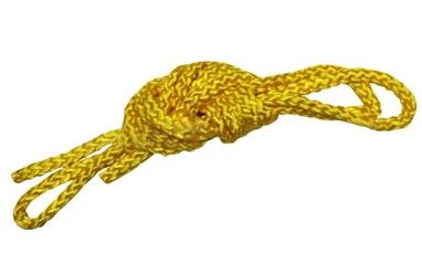 Cкакалка гимнастическая ZLT C-3251 желтая