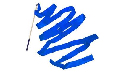 Лента гимнастическая ZLT С-3248 6 м синяя