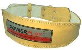 Пояс тяжелоатлетический кожаный PowerPlay 5084