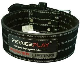 Пояс тяжелоатлетический кожаный PowerPlay 5150 - M