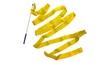 Лента гимнастическая ZLT С-3249 3,5 м желтый - фото 1