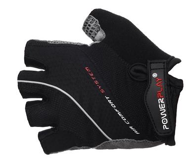 Перчатки велосипедные PowerPlay 5023 MEN black