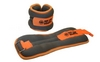 Утяжелители-манжеты ZLT AW-1402-1 2 шт по 0,5 кг  silver/orange - фото 1