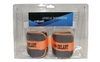 Утяжелители-манжеты ZLT AW-1402-1 2 шт по 0,5 кг  silver/orange - фото 2