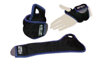 Утяжелители-манжеты 2 шт. по 0,5 кг ZLT FI-4245-1 blue