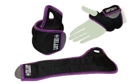 Фото 1 к товару Утяжелители-манжеты ZLT FI-4245-2 2 шт по 1 кг purple