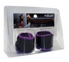 Утяжелители-манжеты ZLT FI-4245-2 2 шт по 1 кг purple - фото 2