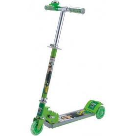 Фото 1 к товару Cамокат трехколесный Scooter N-775B зеленый