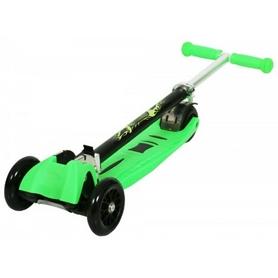Фото 2 к товару Самокат трехколесный c наклоном руля 21 st Scooter H-33 зеленый