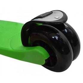 Фото 3 к товару Самокат трехколесный c наклоном руля 21 st Scooter H-33 зеленый