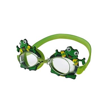 Очки для плавания детские Arena Bubble World зеленые (лягушонок)