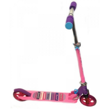 Самокат двухколесный Scooter Power розовый