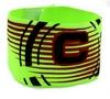 Повязка капитанская Soccer FB-115-LG салатовая - фото 1