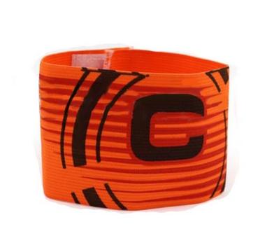 Повязка капитанская Soccer FB-115-OR оранжевая