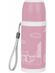 Термос туристический PowerPlay STT-3 350 мл розовый