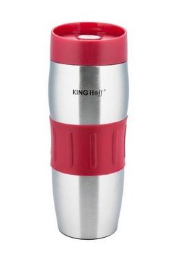 Термокружка KINGHoff КН-4171 380 мл красная