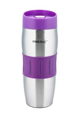 Термокружка KINGHoff КН-4171 380 мл фиолетовая