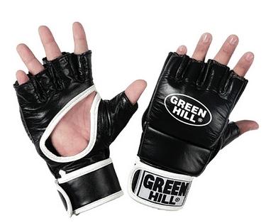 Перчатки для боевого самбо Green Hill MMB-0017r черные