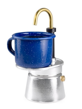 Кофеварка GSI Outdoor Aluminum 1 Cup Mini Expresso