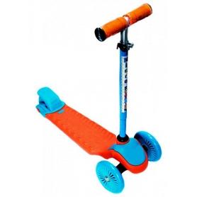 Фото 1 к товару Самокат трехколесный с наклоном руля 21st Scooter W-30 оранжевый